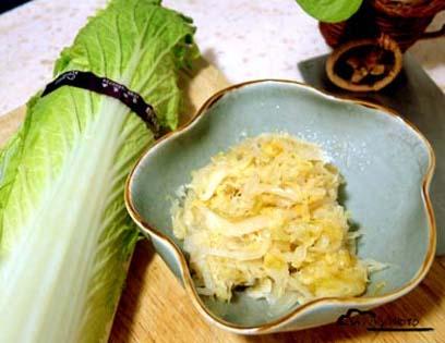 Napa Cabbage Sauerkraut